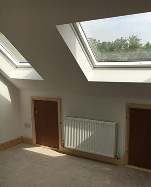 New loft with Velux window