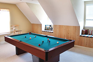 Games Room in Loft